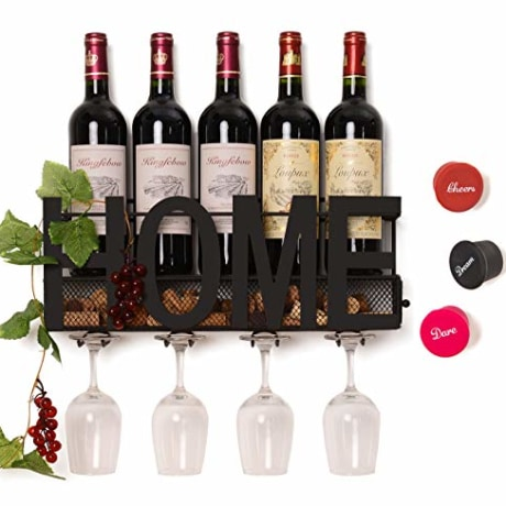 Soduku Wall Mounted Wine Rack