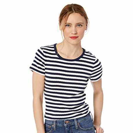 J.Crew Short-Sleeve Striped Crewneck T-Shirt