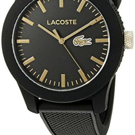Lacoste Men's Analog Quartz Black Watch