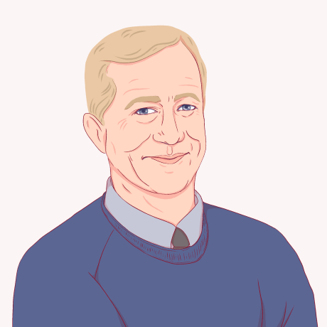 Illustration of Tom Steyer.
