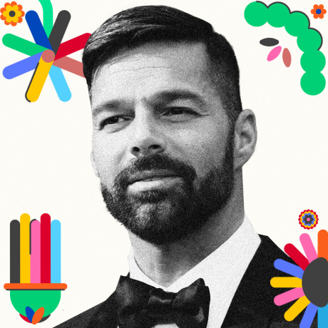 Image: Ricky Martin.