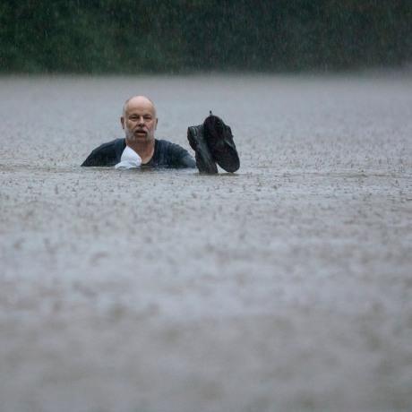 Image: Flooding in Patton Village, Texas