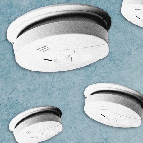 Image: carbon monoxide detectors.