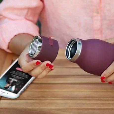 Bluetooth water bottle