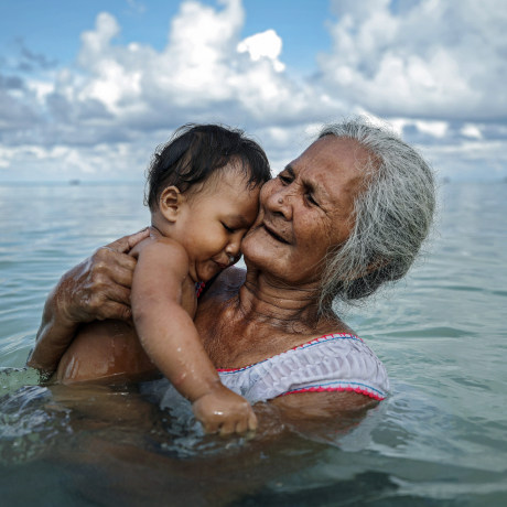 Image: Rising Sea Levels Threaten Coral Atoll Nation Of Tuvalu