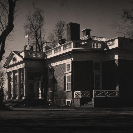 Image: Monticello, the home of Thomas Jefferson, in Charlottesville, Va., in 1943.