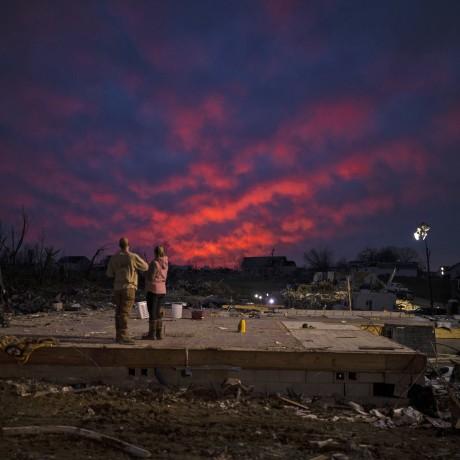 Image: 22 Dead As Tornadoes Roar Across Tennessee, Including Nashville