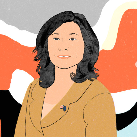 Image: Rep. Grace Meng, D-NY, who introduced anti-racism legislation.