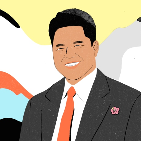 Image: Dr. Jordan K. Lee, a doctor helping Native Hawaiians, the states' lowest income group.