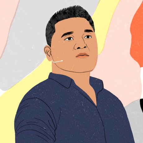 Image: Jose Antonio Vargas, an activist speaking out against racism.
