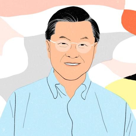 Image: Dr. David Ho, a leading AIDS researcher.