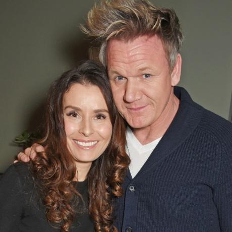 Tana Ramsay and Gordon Ramsay