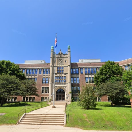 East High School in Madison, Wis.