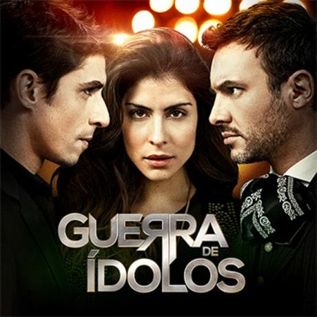 Guerra de Idolos, Novela Mexicana