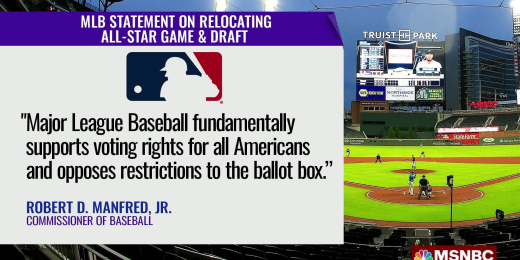 MLB pulls All-Star Game from Atlanta in protest of restrictive new voting  law