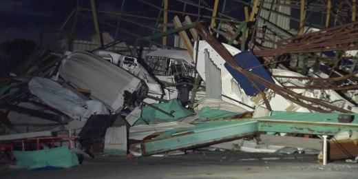 Historia :: El huracán Michael arrasó la ciudad de Panamá, 500,000 sin electricidad