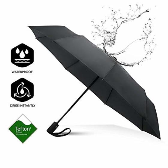 Brand New Repel Windproof Travel Umbrella with Teflon Coating