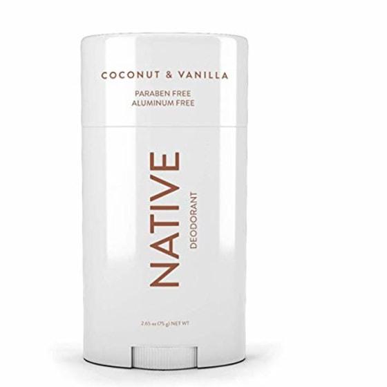 Native coconut and vanilla deodorant review