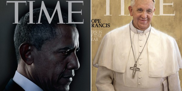 Pope Francis named Time's 2013 Person of the Year