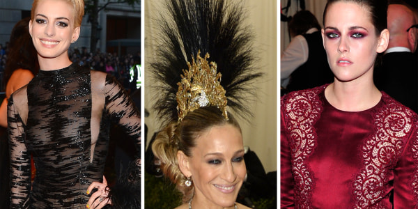 Red Carpet Rebels The Met Ball S Most Outrageous Looks