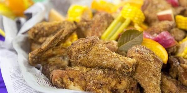 """Crawfish Boil"" Fried Chicken"