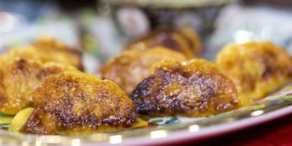 Mama Chang's pork and chive dumplings