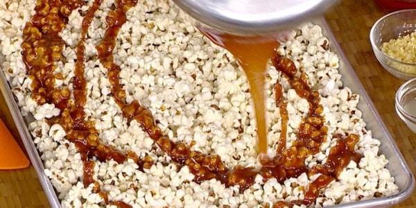 Bren Herrera's Salted Caramel Popcorn with Honey Chipotle Jerky