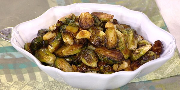 Brussels Sprouts with Garlic