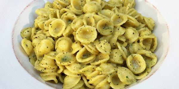 Fava Bean Pesto Orecchiette