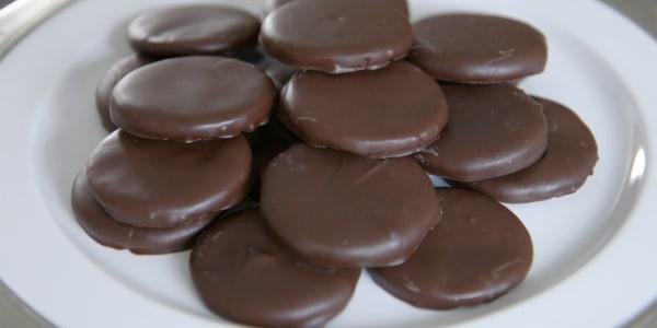Gluten-free homemade Thin Mints