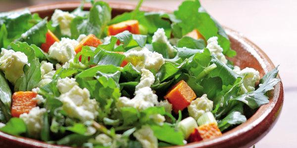 Sweet Potato and Arugula Salad