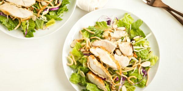 Applebee's-Style Make-Ahead Asian Chicken Salad