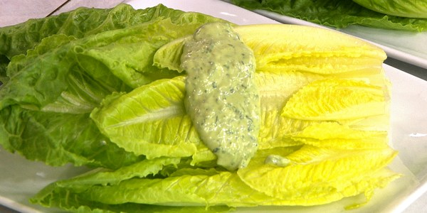 Overripe Avocado, Buttermilk and Herb Dressing