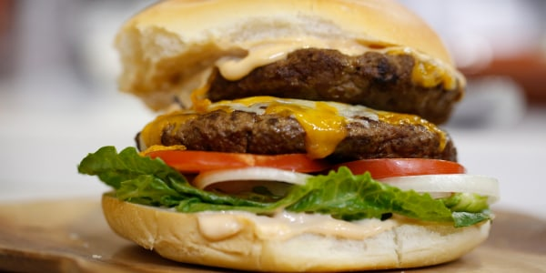 California-style Burger