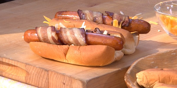 The Swanky Franky Hot Dog