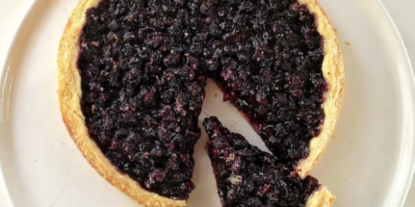 Freeform Wild Blueberry Pie