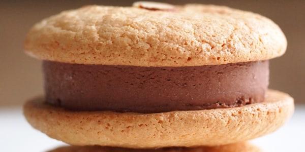 Almond Ice Cream Sandwich Cookies