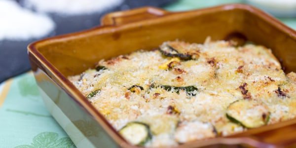 Zucchini and Summer Squash Gratin