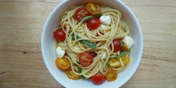 Fresh Tomato Spaghetti
