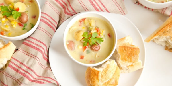 One-Pot Summer Vegetable Chowder