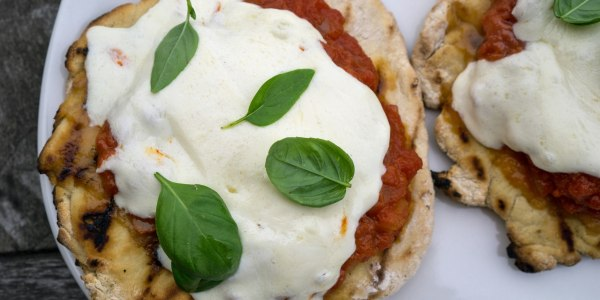 Make pizza on the grill with this easy recipe, plus tips and topping ideas
