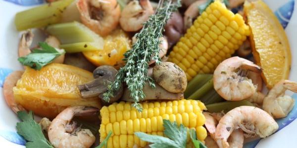 New Orleans-Style Shrimp Boil