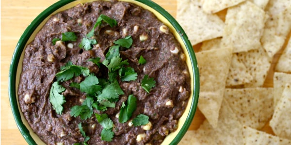 Spicy Black Bean and Corn Dip