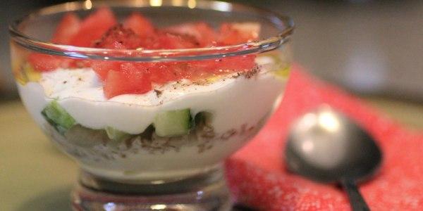 Basic Savory Yogurt Parfait