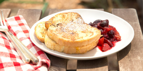 Grill-Griddled French Toast