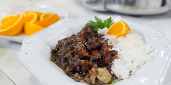 Natalie's Feijoada (adapted from Cooking Light)