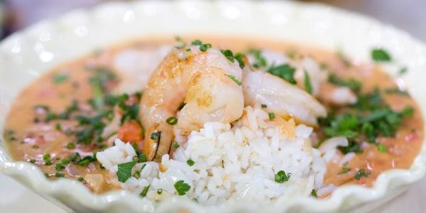 Brazilian Shrimp Stew (Bobo de Camarão)