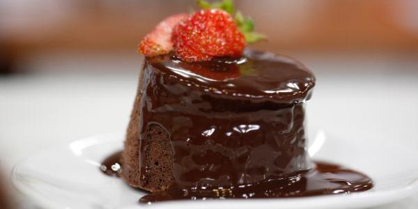 Microwave Chocolate Mini Cakes