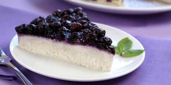 Blueberry Bliss Cheesecake
