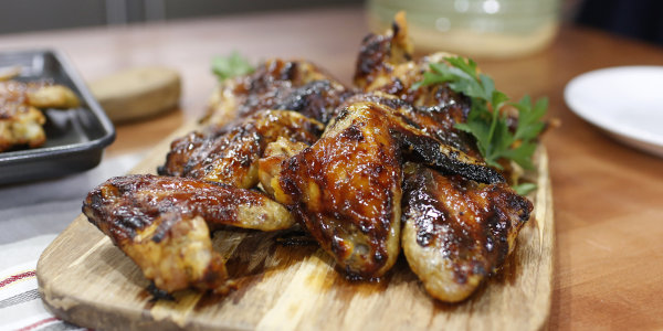 Ginger-Scallion Chicken Wings